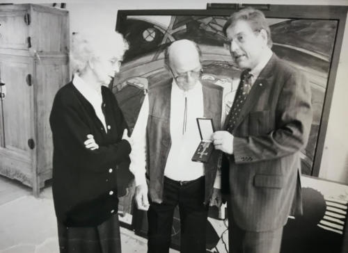 Verleihung Bundesverdienstkreuz 1998